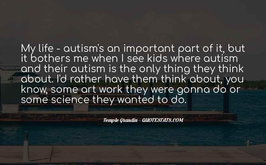 Autism's Quotes #238611