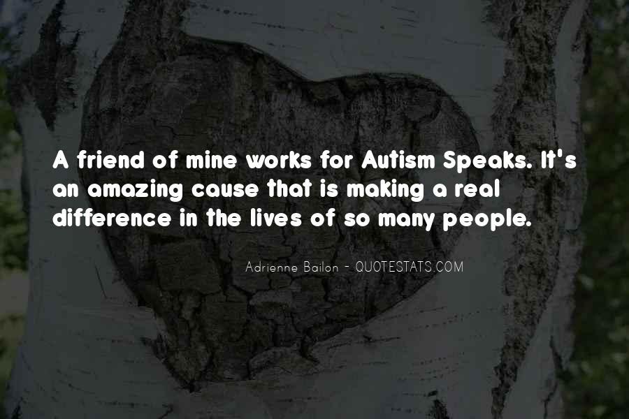 Autism's Quotes #25299