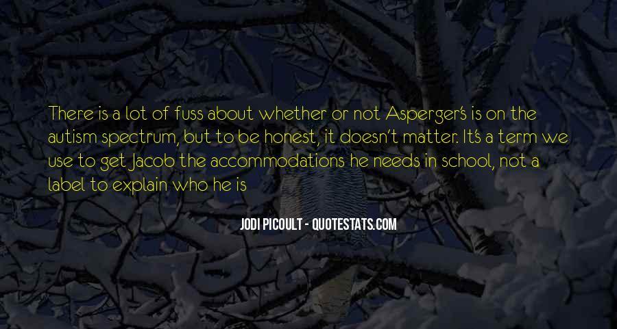 Autism's Quotes #374564