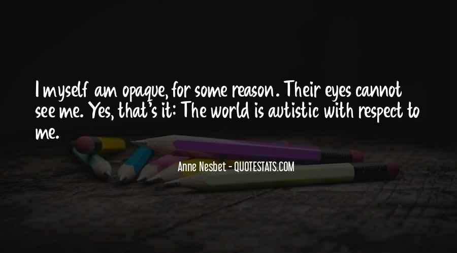 Autism's Quotes #78941