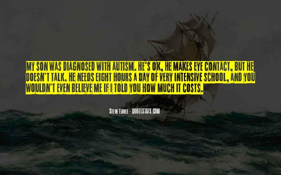 Autism's Quotes #80588