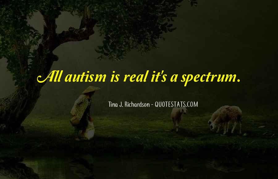 Autism's Quotes #956606