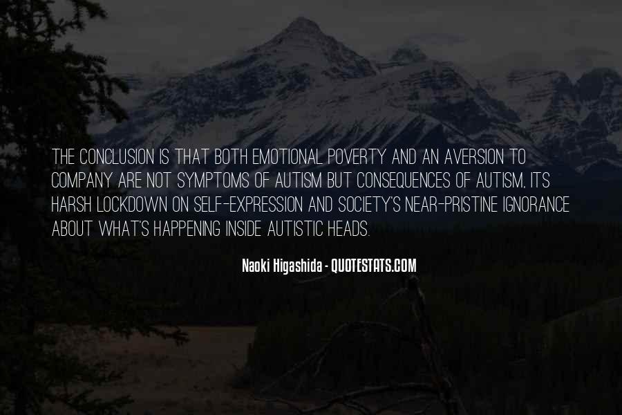 Autism's Quotes #992947