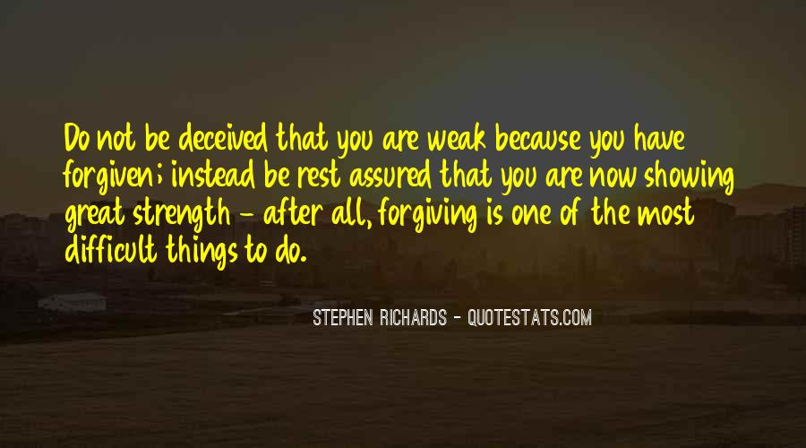 Quotes About Forgiving And Letting Go #1494477