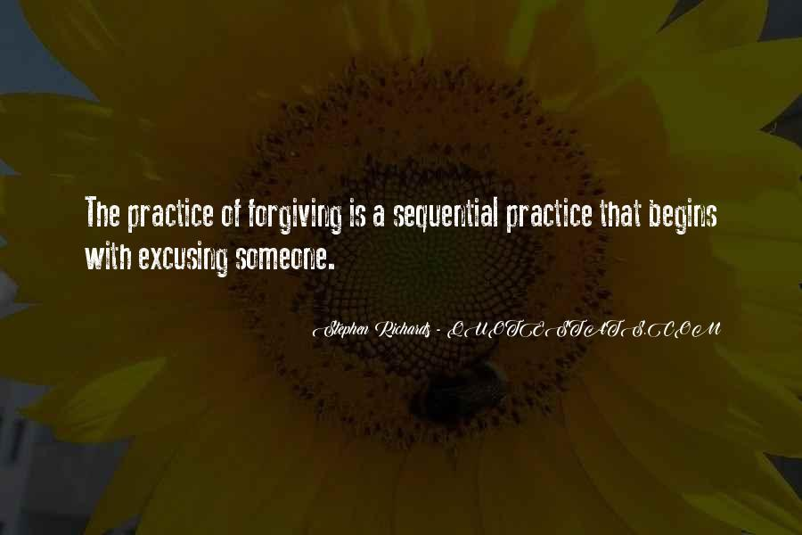 Quotes About Forgiving And Letting Go #554084