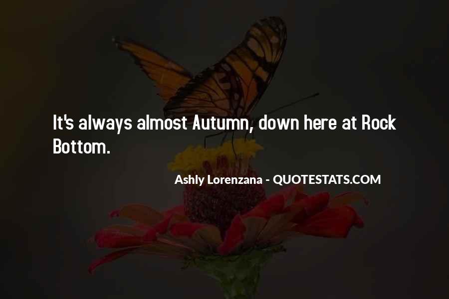 Autumn's Quotes #395340