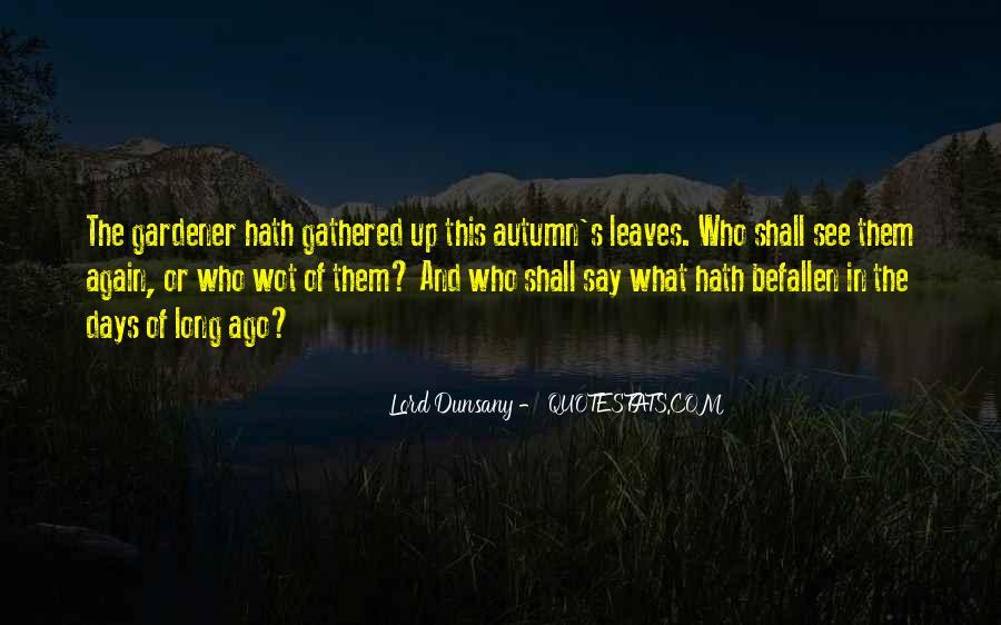 Autumn's Quotes #409605