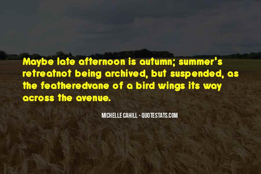 Autumn's Quotes #433503