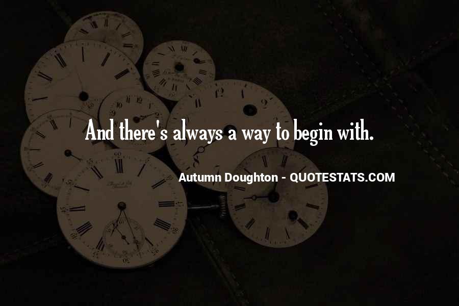 Autumn's Quotes #445226
