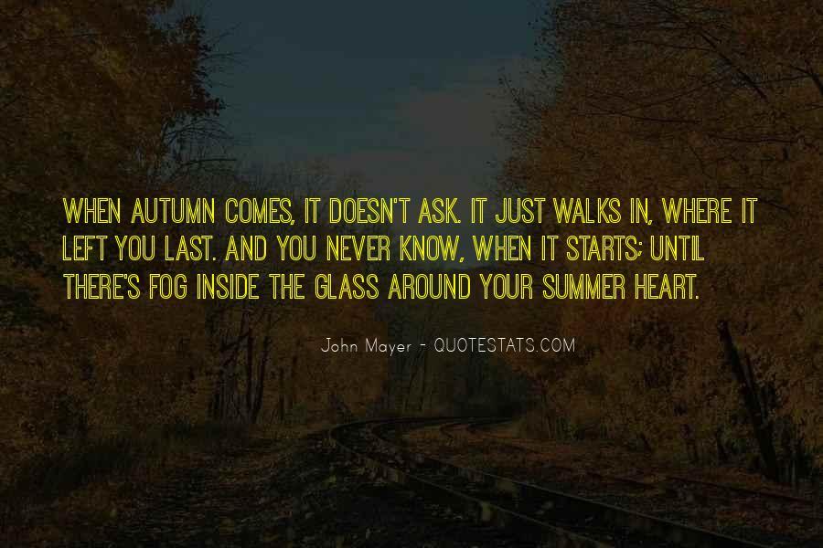 Autumn's Quotes #498031