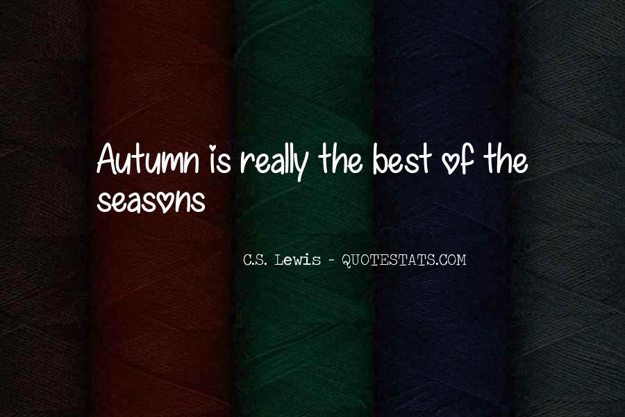 Autumn's Quotes #499972