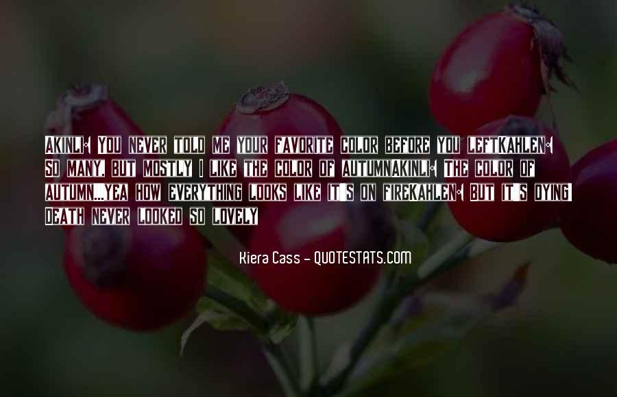 Autumn's Quotes #546058