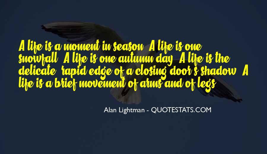 Autumn's Quotes #615409