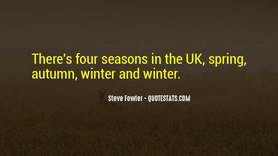 Autumn's Quotes #819241