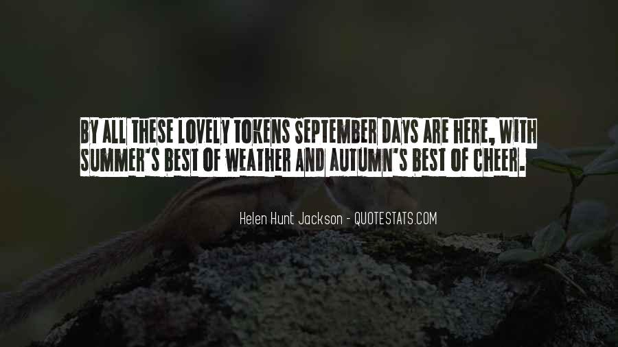 Autumn's Quotes #823744