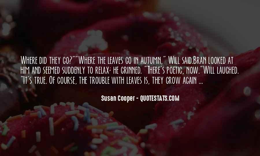 Autumn's Quotes #929830