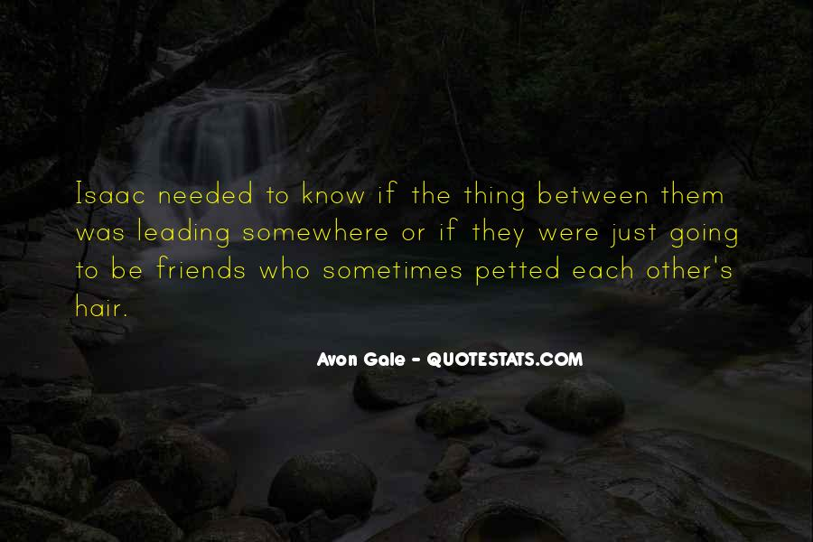 Avon's Quotes #1370610
