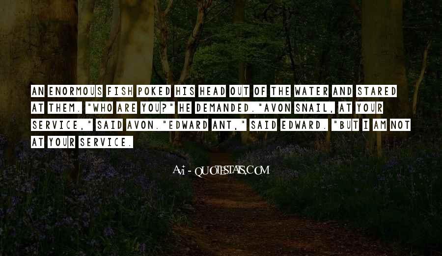 Avon's Quotes #1399627