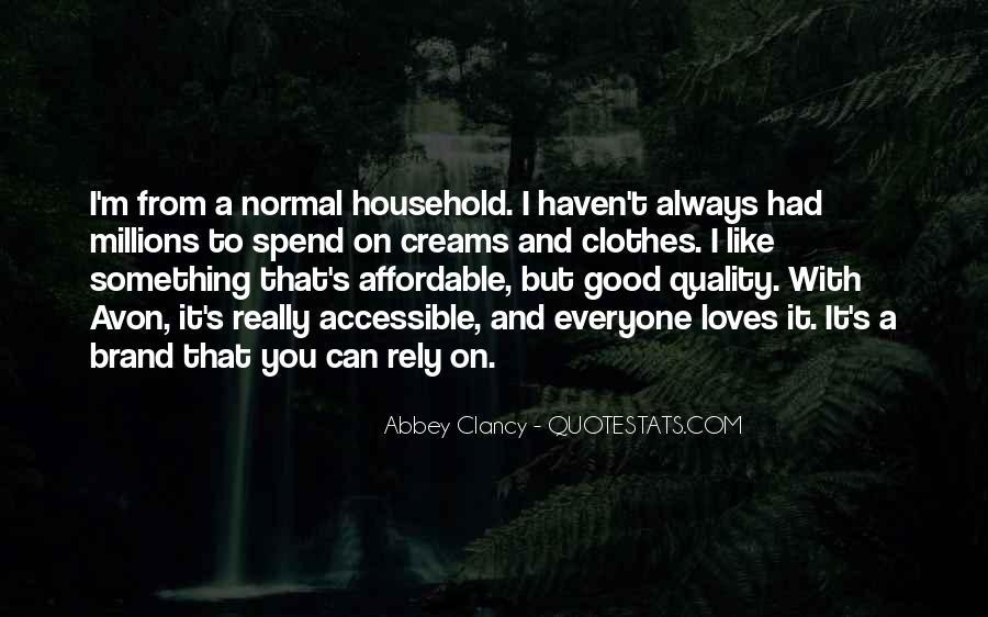 Avon's Quotes #1675893