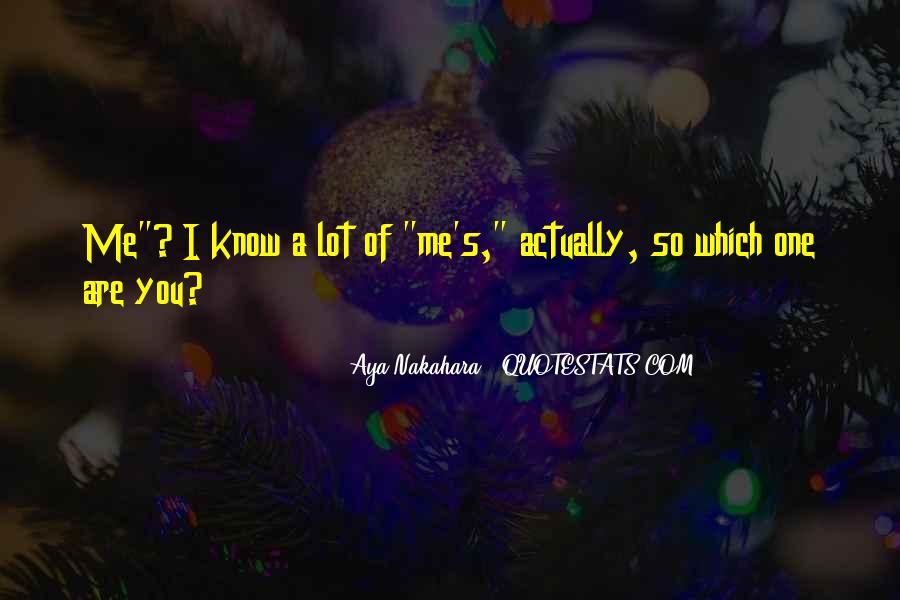 Aya's Quotes #1030354