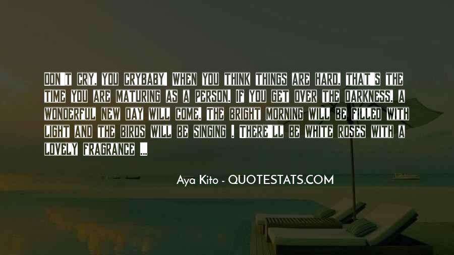 Aya's Quotes #836695