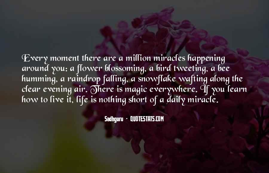 Quotes About Miracles Happening #775287