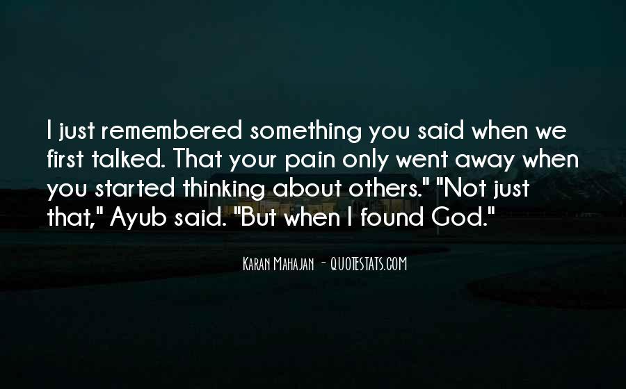 Ayub Quotes #1262846