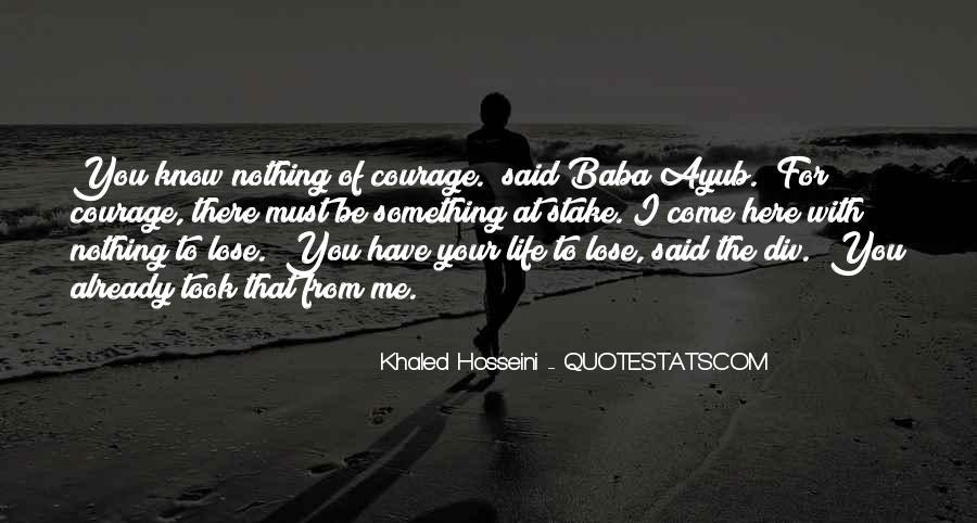 Ayub Quotes #352198