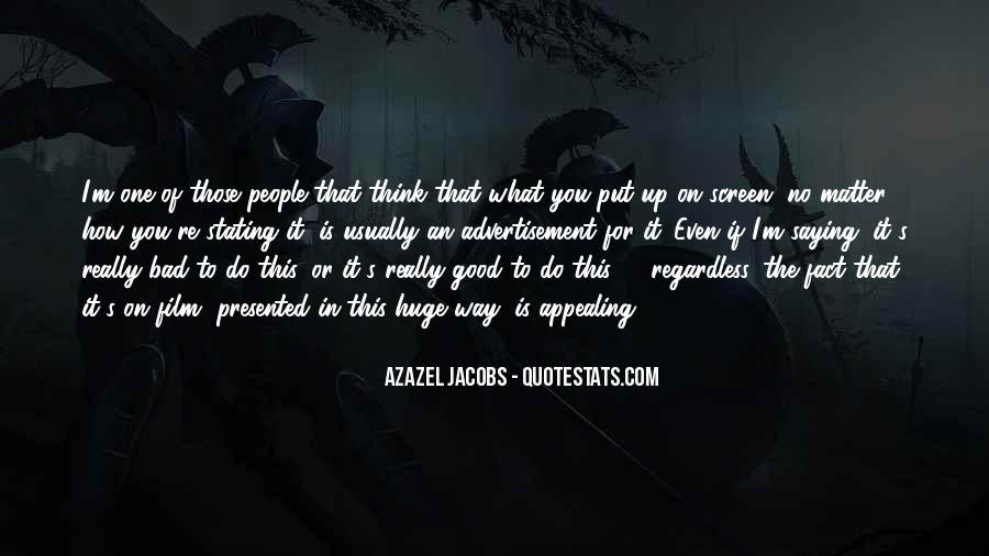 Azazel's Quotes #829650