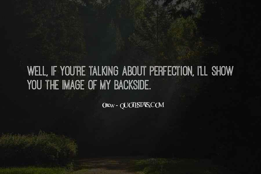 Backside's Quotes #1300347