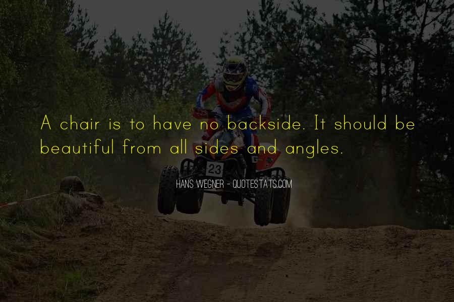 Backside's Quotes #260252