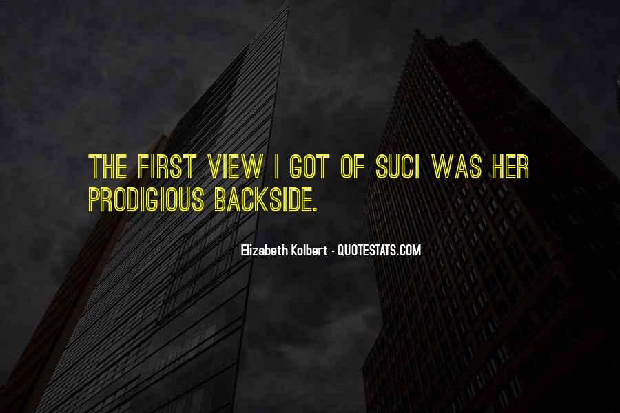 Backside's Quotes #442926