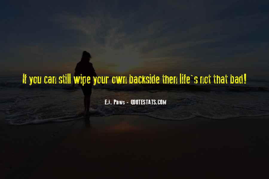 Backside's Quotes #834458