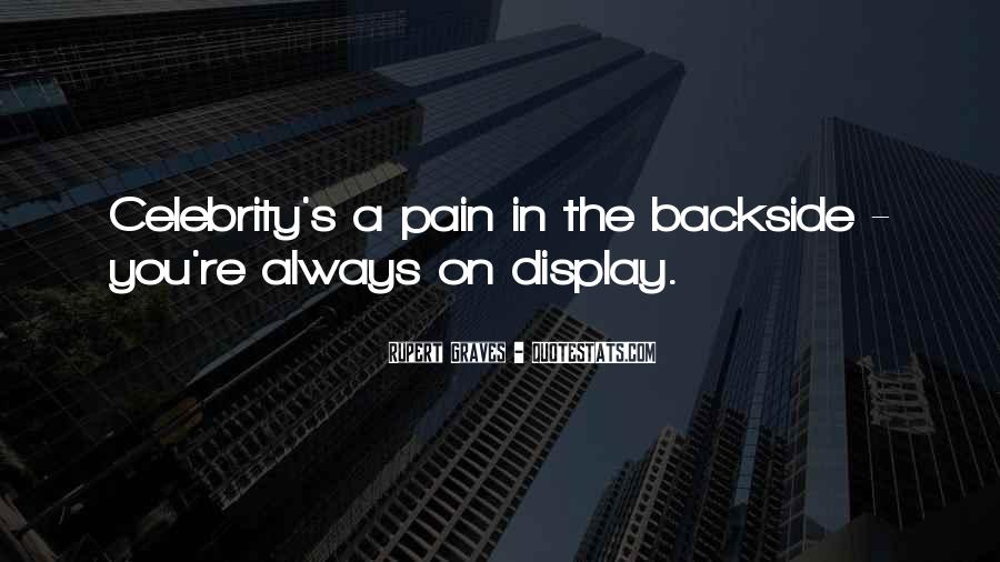 Backside's Quotes #851189