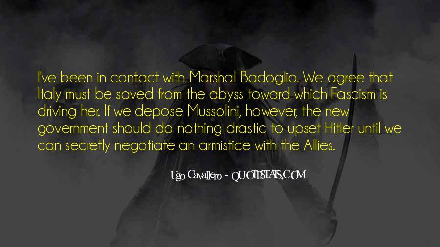 Badoglio Quotes #453618