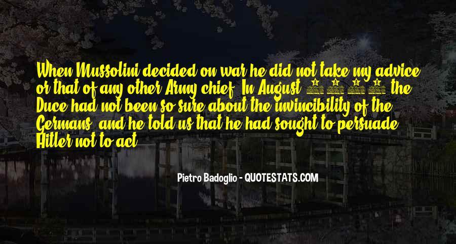 Badoglio Quotes #97922