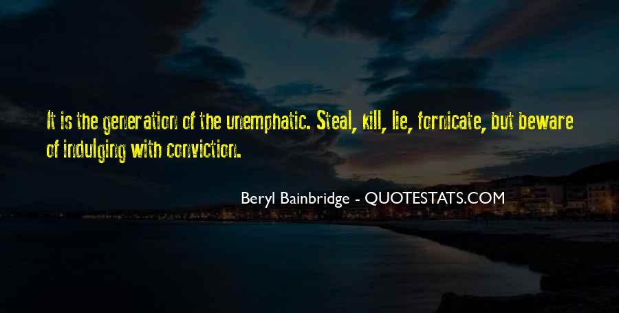 Bainbridge's Quotes #1012297