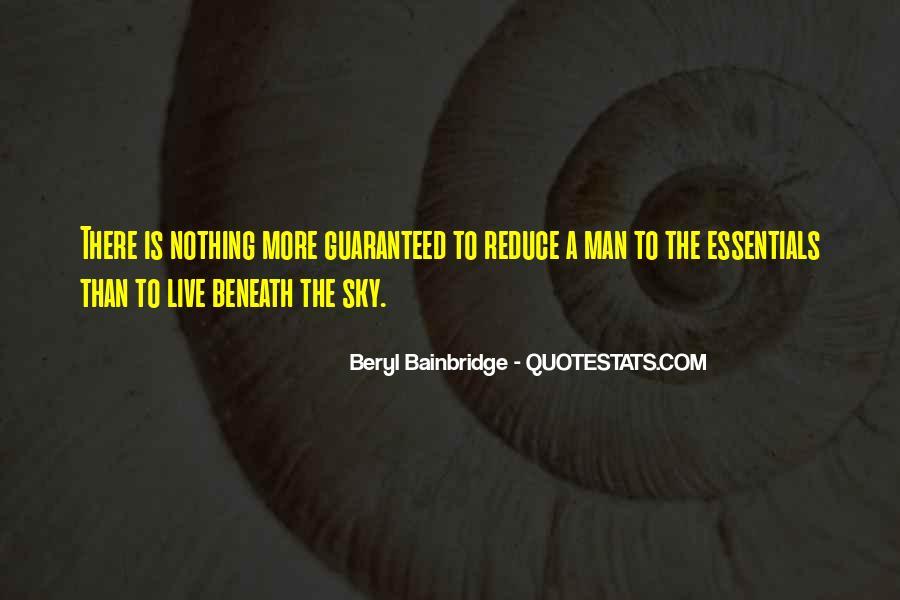 Bainbridge's Quotes #1462065