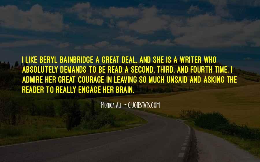 Bainbridge's Quotes #1467925