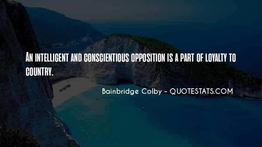 Bainbridge's Quotes #1670666