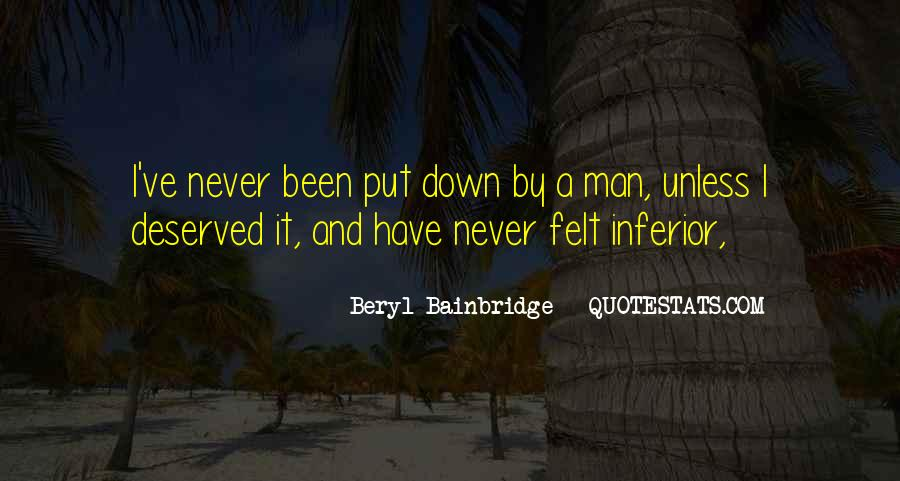 Bainbridge's Quotes #32365