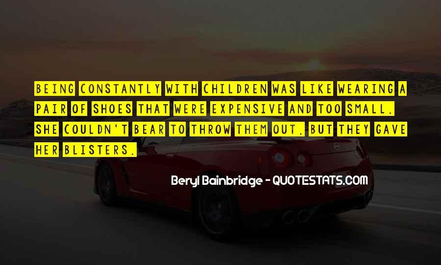 Bainbridge's Quotes #414873