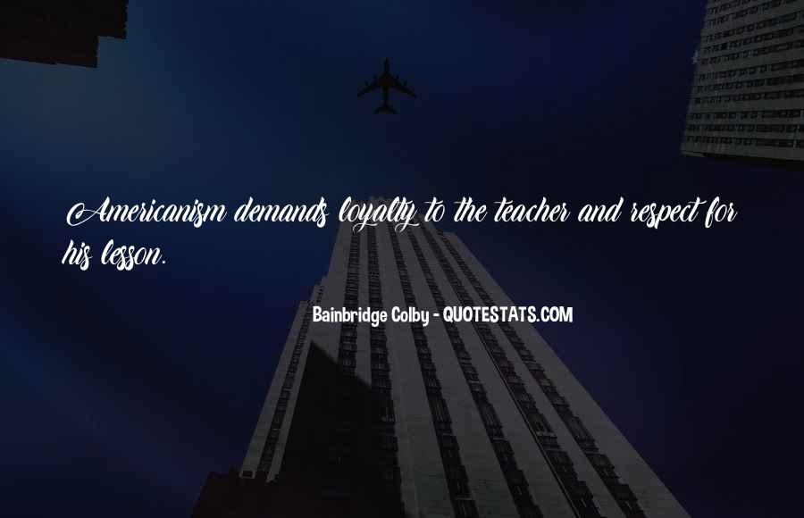 Bainbridge's Quotes #527108