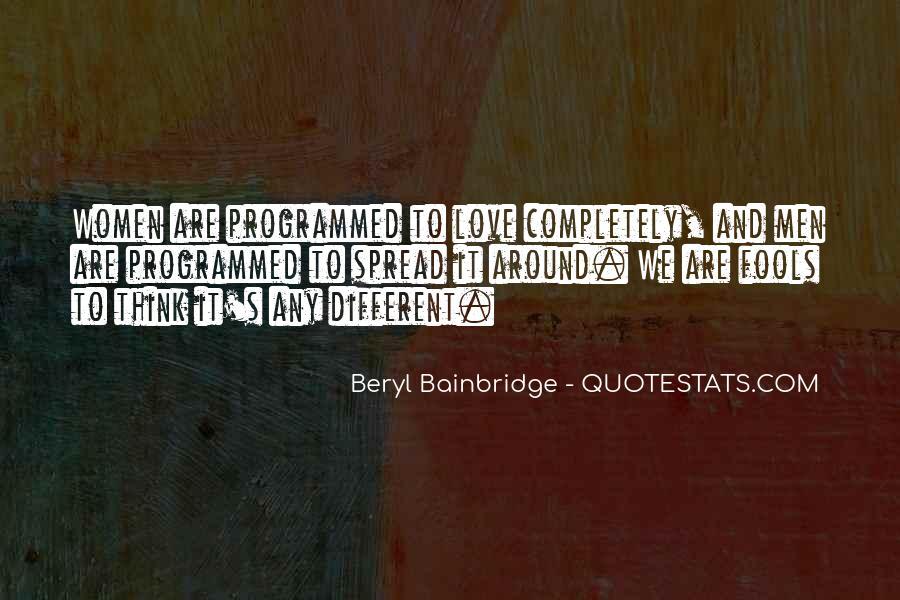 Bainbridge's Quotes #839556