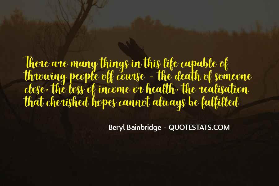 Bainbridge's Quotes #855249