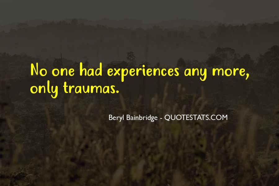 Bainbridge's Quotes #985445