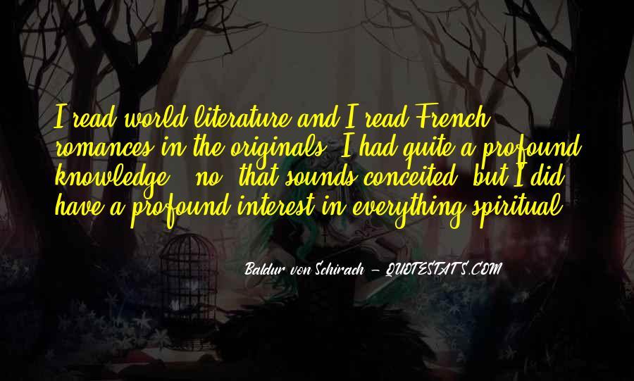 Baldur Quotes #469724