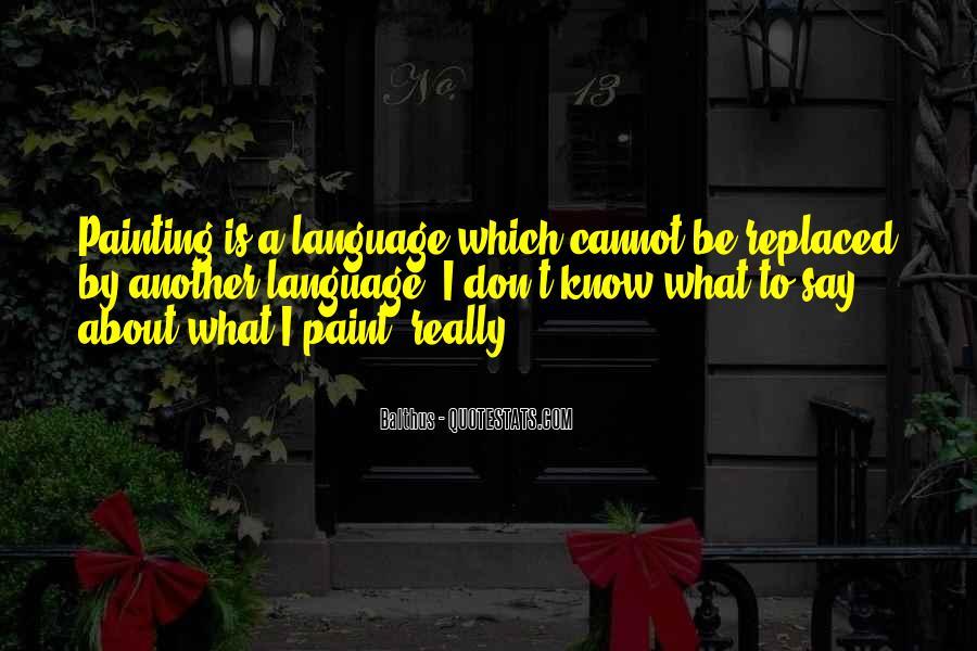 Balthus Quotes #1777759