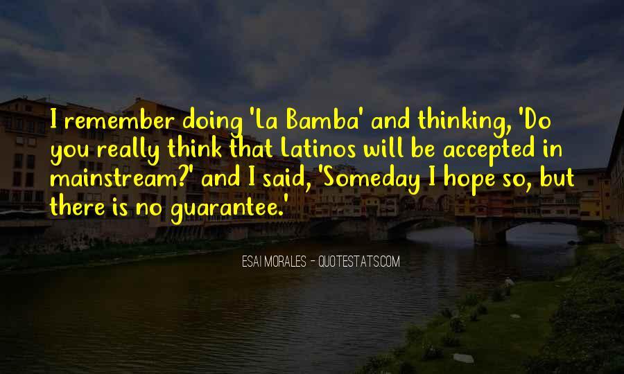 Bamba Quotes #1391102