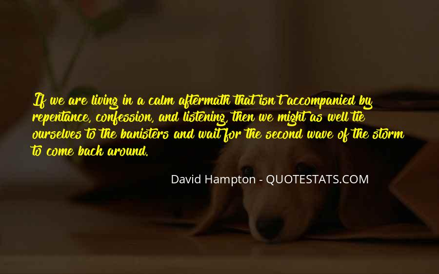 Banisters Quotes #1002745
